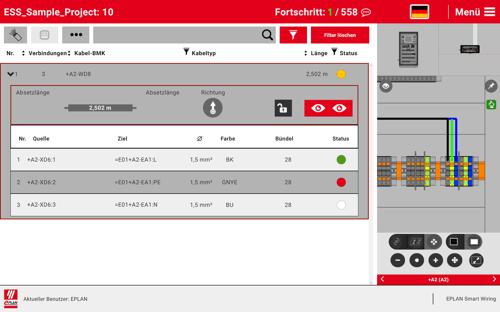 EPLAN Smart Wiring_Integration Kabel_DE